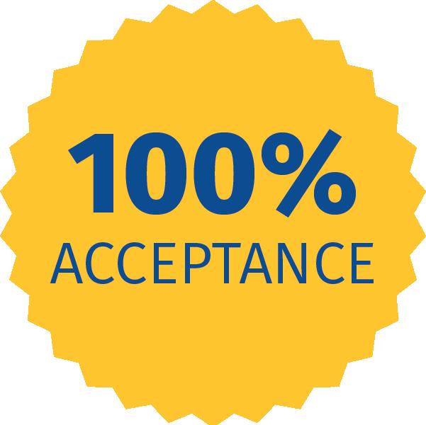 100 Percent Acceptance