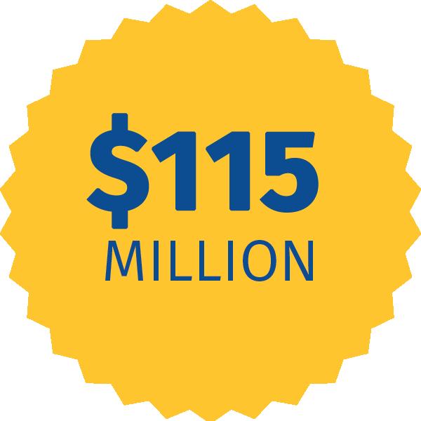 115 Million Dollars
